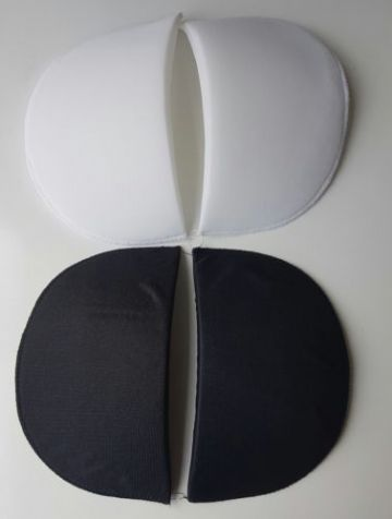 Nortexx Shoulder Pads Black/White Covered 2 Pack ~ VARIOUS SIZES~
